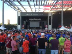 Dallas Series 2014 - Opening Ceremonies