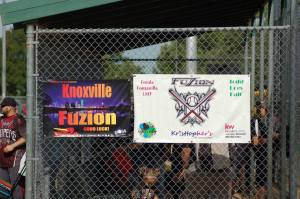 Fuzion's GSWS & Team Banners at Dallas Series 2014.